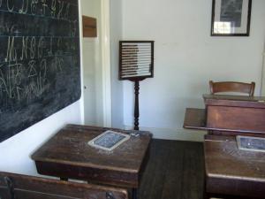 Acton Scott schoolroom