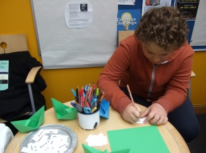 Paper Boat Poems workshop 6