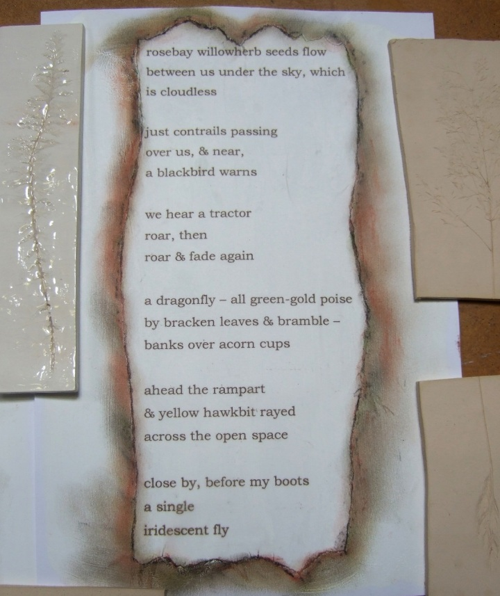 Poem Today at Bury Ditches 2