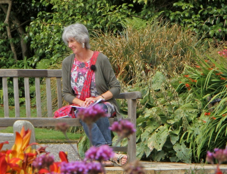 Jean at Logan Garden 2013 credit Brenda White
