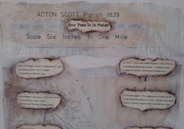 artwork & poem How Time Is In Fields JEAN ATKIN