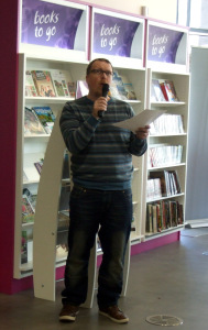 Southwater Readers Day Rob reading