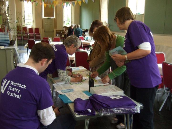 WPF 2015 volunteers at work