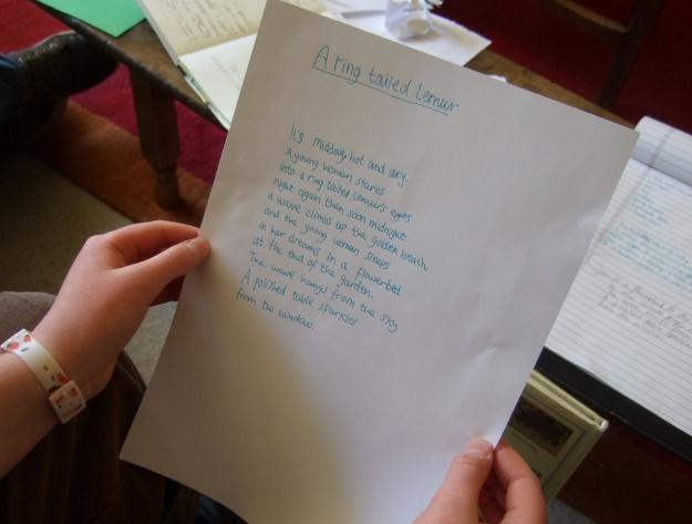 Home Ed Group Loretta randomiser poem