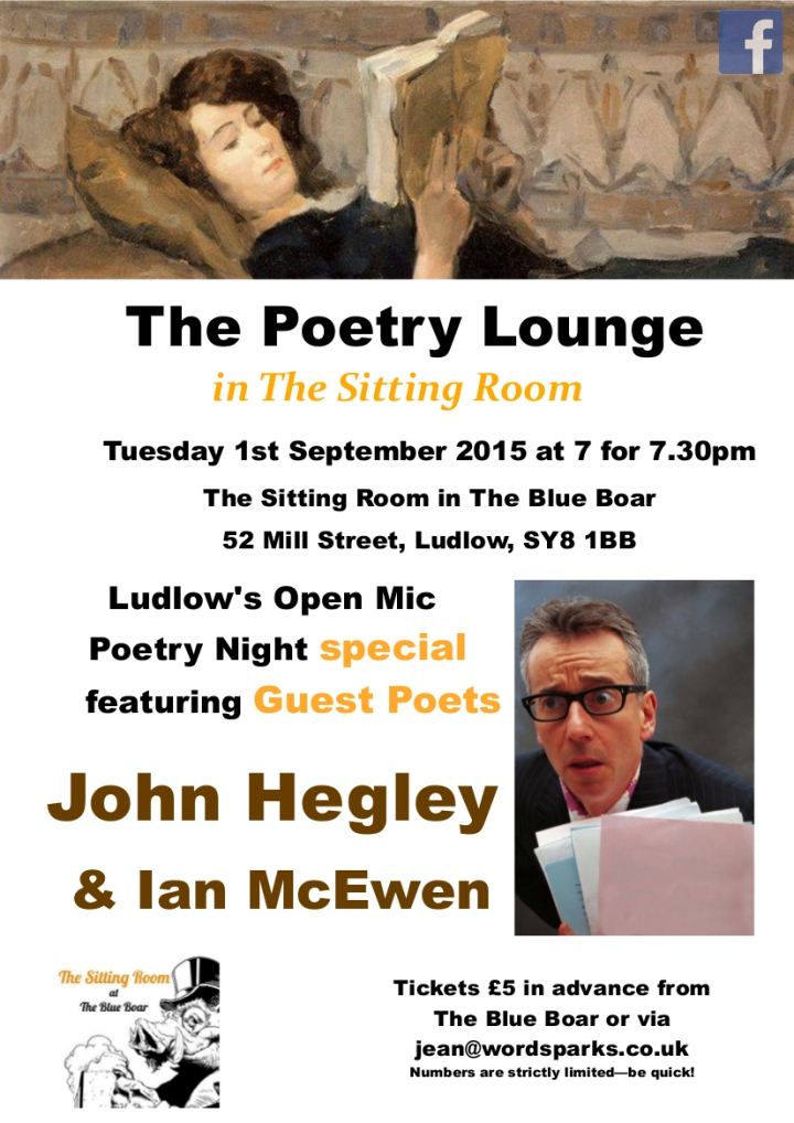 #5_The Poetry Lounge John H Ian McE 1 Sept 2015 poster