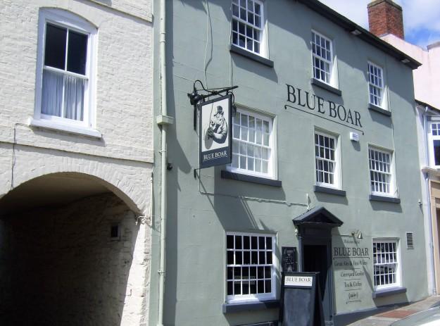 Blue Boar sun