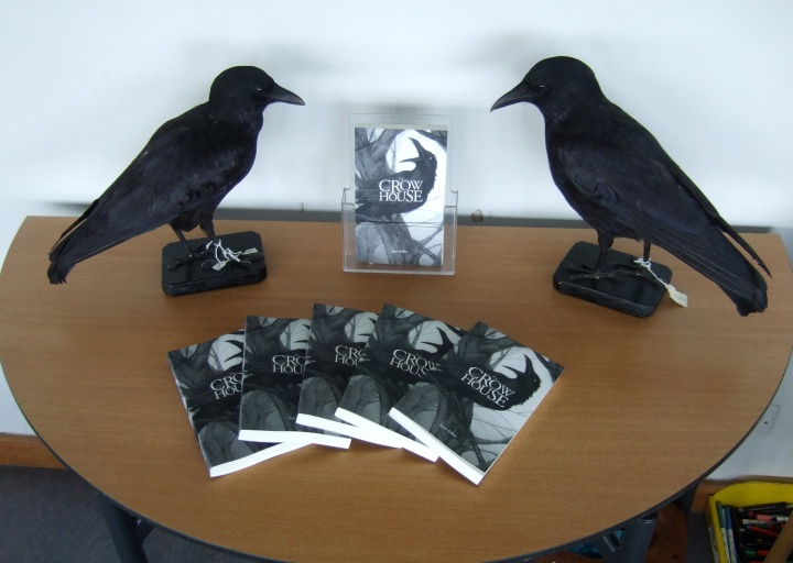 Crow House Ludlow Library + crows mr