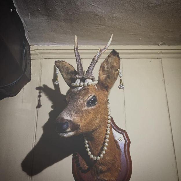 deer in pearls