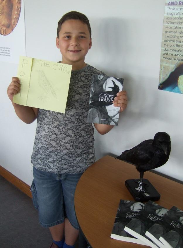 Matthew + poem + crow