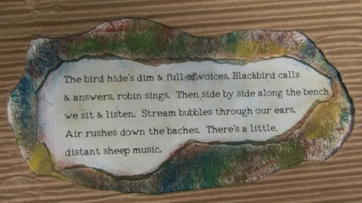 5 Sites 5 Senses Loudwater poem bird hide CROP