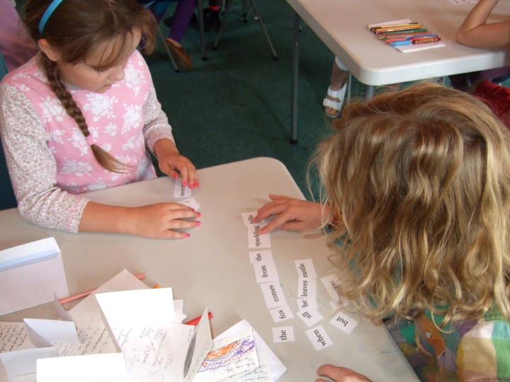 Solving Poetry Puzzles