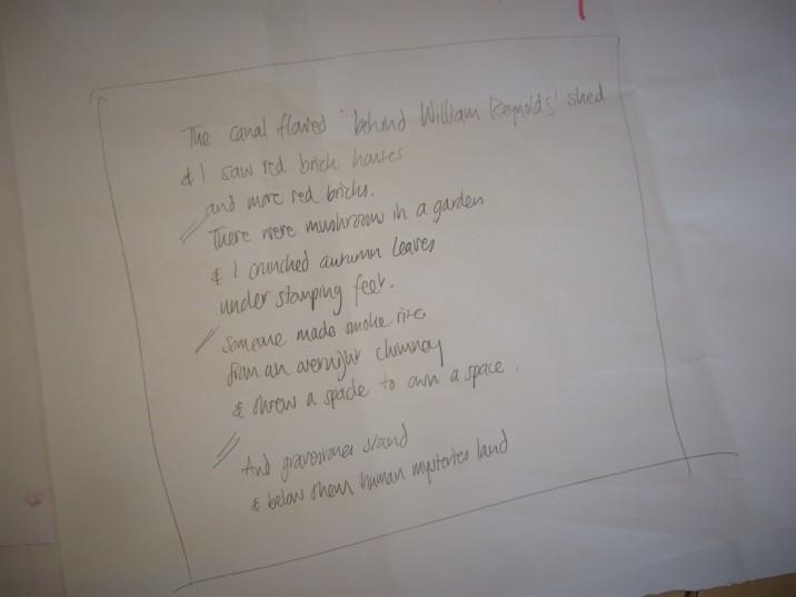 Class 10 group poem