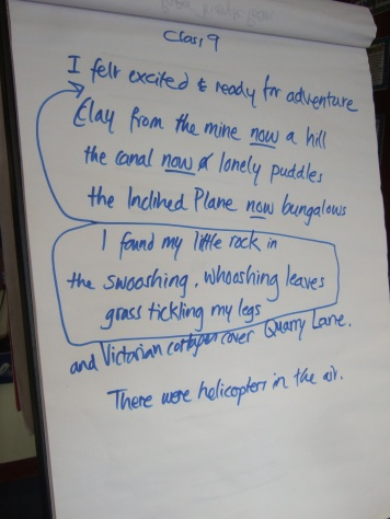 Class 9 group poem