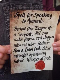 Speak to Animals