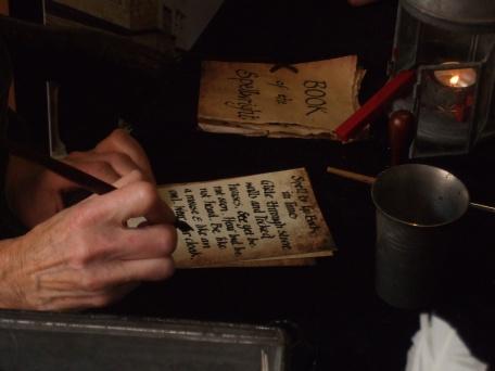 Spellwright writing