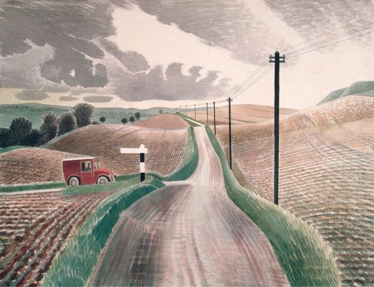 Eric-Ravilious-Wiltshire-Landscape